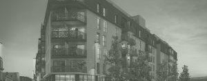 bâtiment style art nouveau, logements en R+5, coeur d'ilôt d'un immeuble, projet d'appartements Vinci promotion à Bordeaux, végétalisation d'un espace minéral, projet réalisé par un architecte et un paysagiste concepteur à Bordeaux